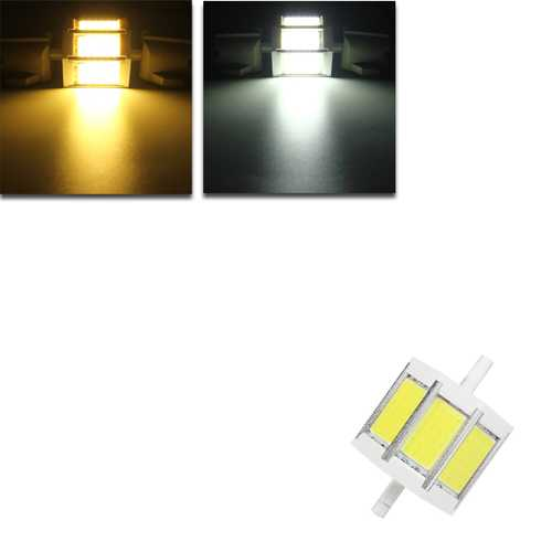 R7S 78MM 10W COB SMD LED Flood Light Spot Corn light Lamp Bulb AC 85-265V
