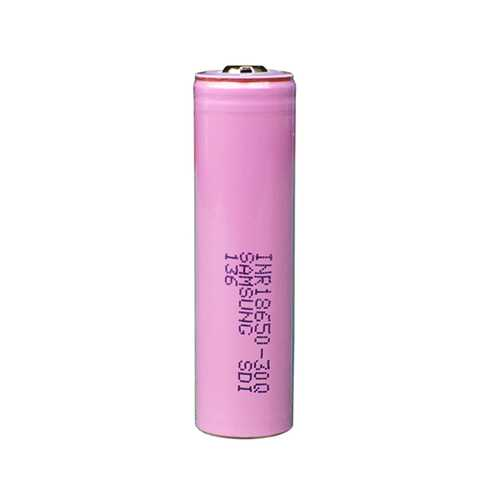1PCS INR18650-30Q 3000mAh Unprotected Button Top 18650 Battery