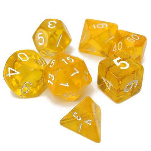 7-Dice Sided D4 D6 D8 D10 D12 D20 MTG RPG Poly Game Set
