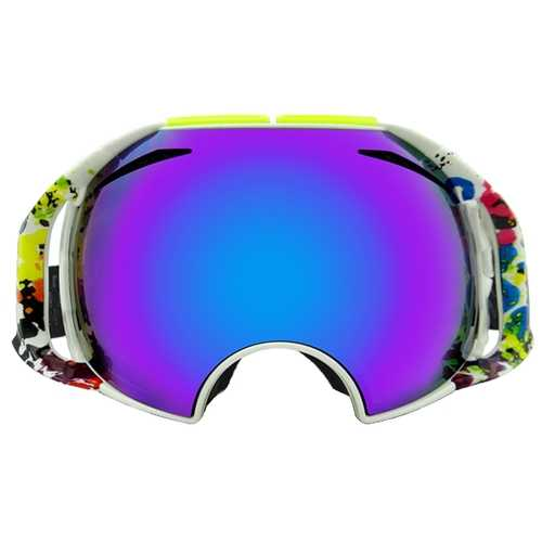 Eddie Fox Ski Goggles Double Permanent Anti-Gog Lens Motorcycle Glasses Spherical