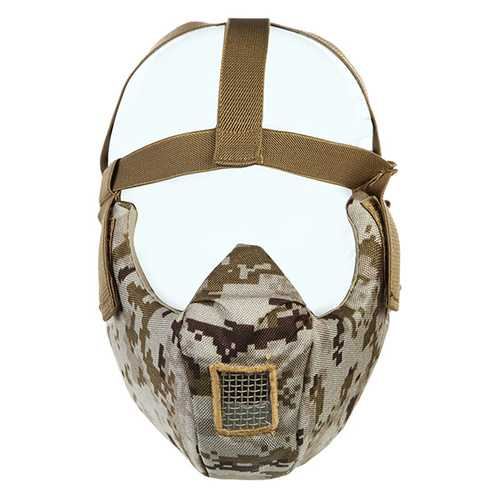 700FPS Shock Resistance CS Wargame Mask Tactical Airsoft Camouflage Cosplay WosporT MA75