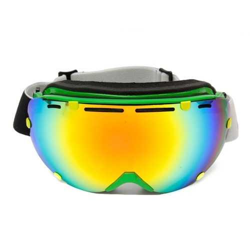 Anti Fog UV Dual Lens Winter Racing Outdooors Snowboard Ski Goggles Sun Glassess CRG101-2A