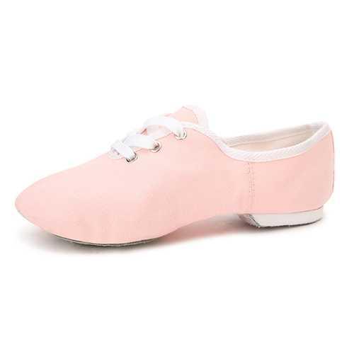 Women Practise Dance Shoes Soft Sole Ballet Dance Shoes