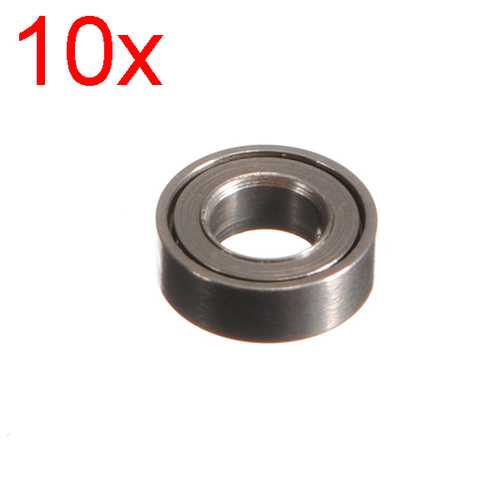10 x MJX F47 F647 RC Helicopter Spare Parts Bearing Φ6*Φ3*2