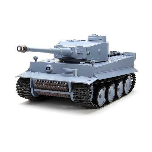Heng Long 3818-1 2.4G 1/16 Germany Tiger I RC Tank Radio Control Battle Tank 6.0 Version