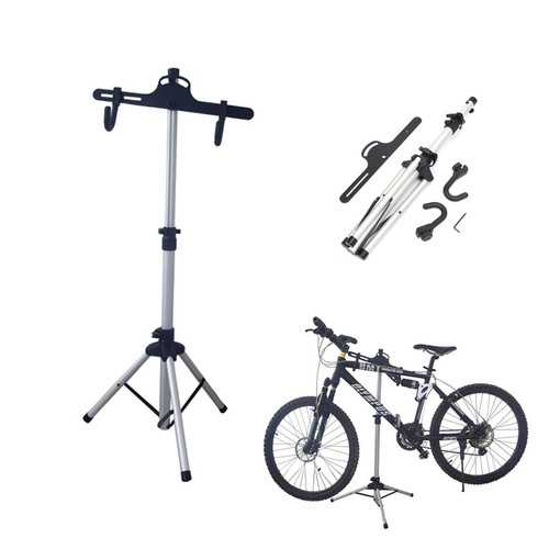 Bike Bicycle Repair Maintenance Stand Folding Workstand Adjustable Holder Repair Tool For Cycling