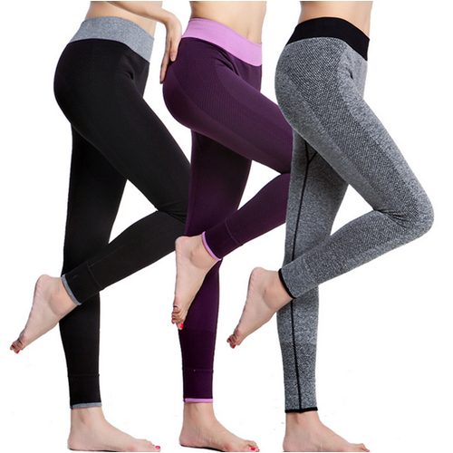 Athleisure High Waist Yoga Gym Sport Stretched Spandex Fitness Legging Pant Exercise Slimming