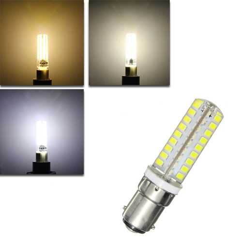 Dimmable 9W G9 B15 E14 E12 72 450LM SMD 2835 LED Corn Lamp Bulb AC 220V