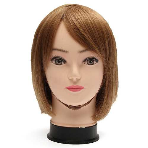 PE Plastic Mannequin Head Hat Glasses Scarf Display Wig