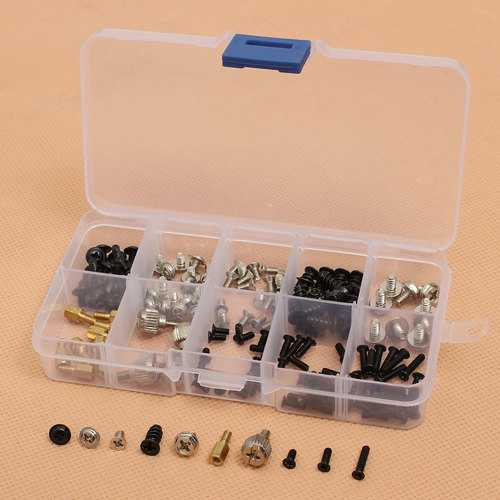 165pcs Computer Screws for Motherboard PC Case CD-ROM Hard disk Notebook Screws