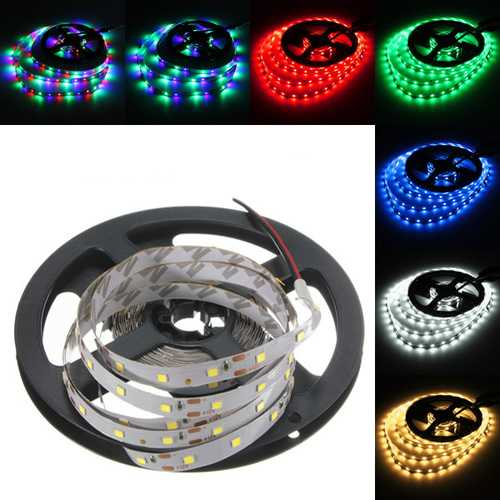4M DC12V 19.2W 240 SMD 3528 Non-waterproof Red/Blue/Green/White/Warm White/RGB Flexible LED Strip
