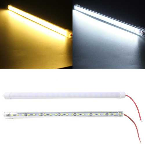 30CM 4.2W DC12V LED Rigid Strip Light 21 SMD 5630 Aluminum Alloy Shell Cabinet Lamp Bar