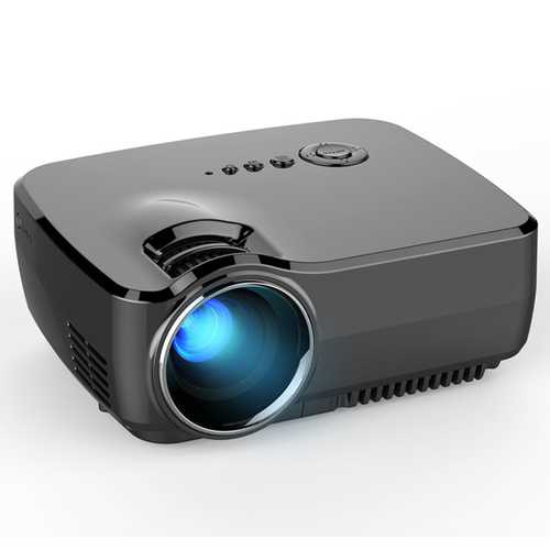 BARCOMAX GP70 1200 Lumens LCD 800 x 480 Pixels LED Projector Full HD 1080P Home Theater Beamer