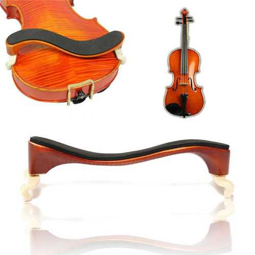 Professional Adjustable Maple Wood Violin Shoulder Rest For 3/4-4/4 Violin