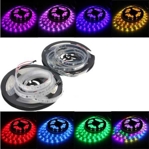 WS2811 5M LED Strip 150 SMD 5050 LED RGB Dream Color Strip Light Waterproof IP65 DC 12V