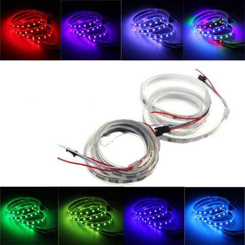 WS2811 1M LED Strip 60 SMD 5050 LED RGB Dream Color Strip Light Waterproof IP65 DC12V