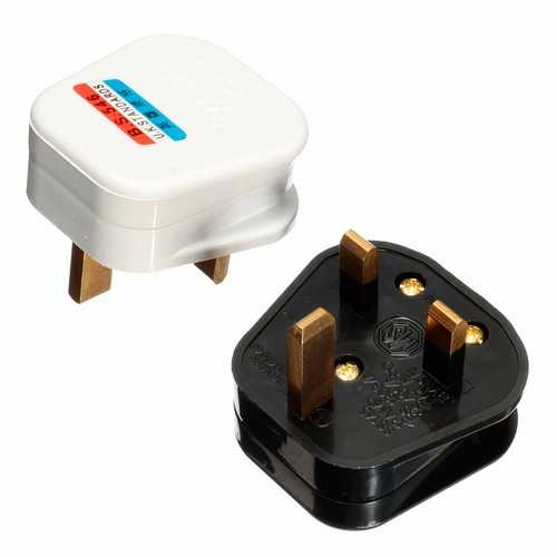3 Pin 13A 13 AMP UK Plug Mains Top Appliance Power Socket Fuse Adapter Household