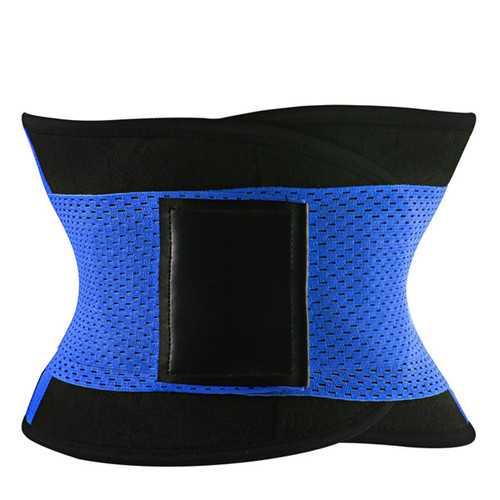 Adjustable Trimmer Belt Body Wrap Back Lumbar Support Sporty Waist Trainer Girdle Corset