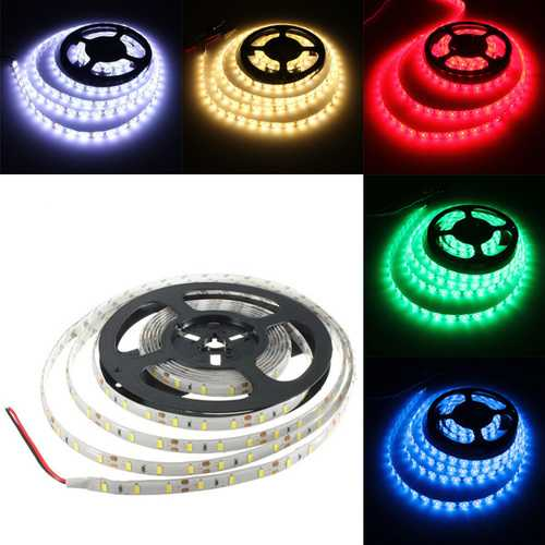 4M 72W DC 12V 240 SMD 5630 Waterproof White/Warm White Red/Green/Blue LED Strip Flexible Tape Light
