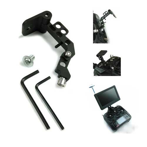 FPV Display Monitor Supporter Mounting Bracket For RC Transmitter