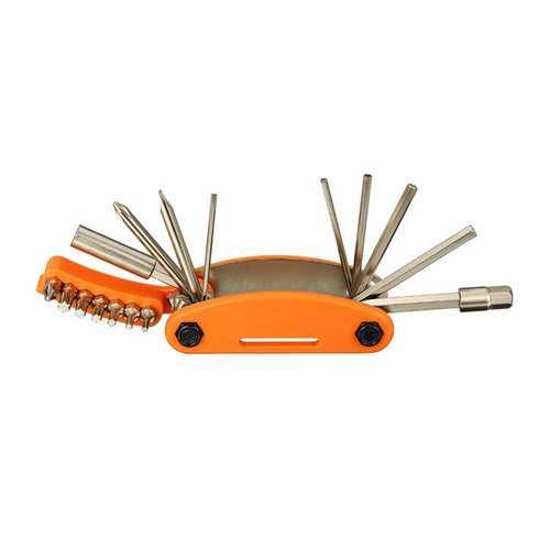 15 In 1 Bicycle Repair Tool Hexagon Screwdriver Wrench Set Mountain Bike Repair Kit