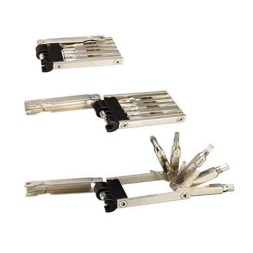 10 In 1 Multi Bicycle Repair Tool Screwdrivers Kit With Chain Rivet Remover