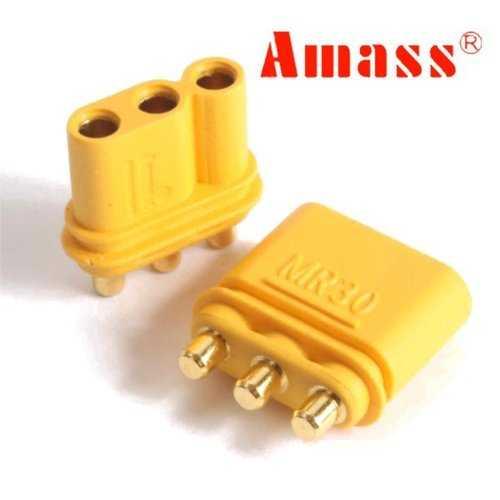 10 Pairs Amass MR30PB Connector Plug Female & Male