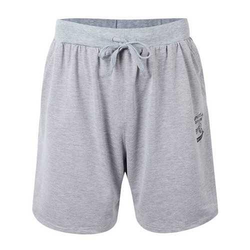 XS-5XL Mens Cotton Sports Shorts Elastic Waistband Zippered Pockets ShorT-pants With Drawstring