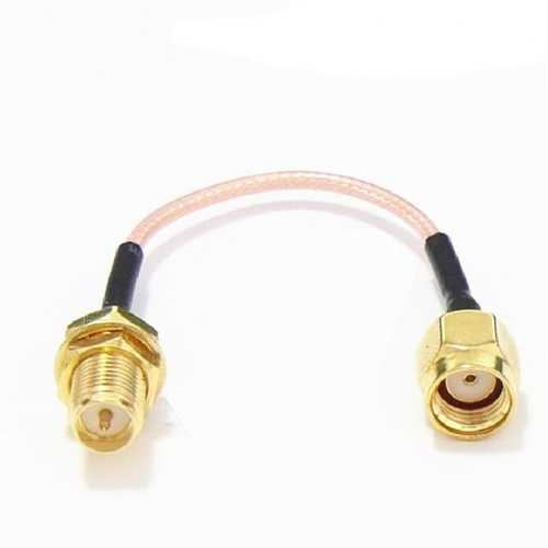 120mm Low Loss Antenna Extension Cable Wire SMA/RP-SMA for FPV System