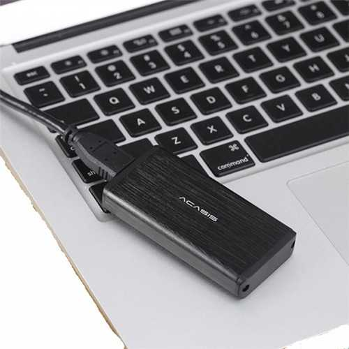 Acasis FA-2283 mSATA to USB 3.0 SSD black HDD Enclosure Case