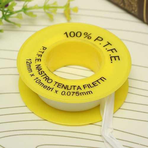 PTFE Teflon Tape White Thread Seal Tape 12mm*10m*0.075mm