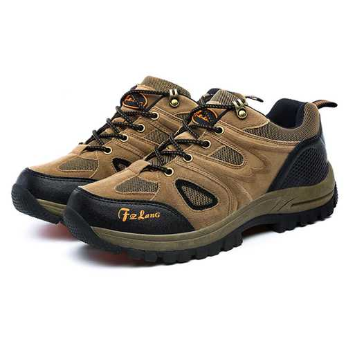 Big Size Men Sport Shoes Outdoor Running Mountaineering Shoes Casual Comfortable Shoes