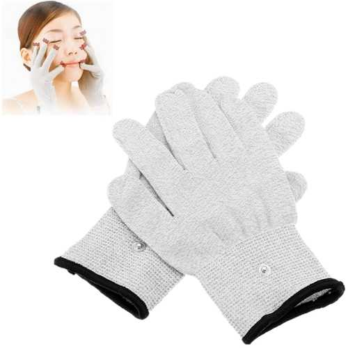 1 Pairs TENS Conductive Pulse Electrode Massage Tools Gloves Physiotherapy