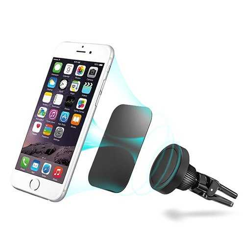 Bakeey 360 Degree Rotation Magnetic Car Air Vent Mount Holder for iPhone 8 X Mobile Phone