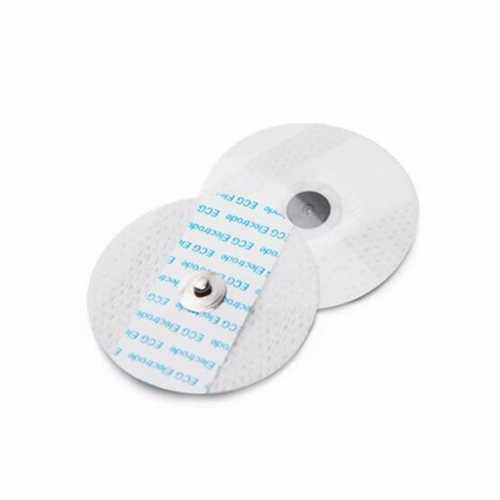 20pcs Disposable Physiotherapy Electrodes Slices Button Type For ECG Diagnosis And Monitoring