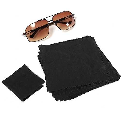 1pcs 15X15cm Eyeglasses Reading Glasses Cleaning Cloth Camera Phone Screen Cleaner