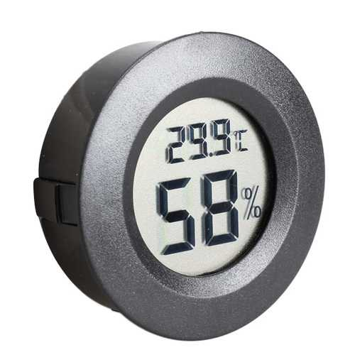 Mini LCD Celsius Digital Thermometer Humidity Meter Freezer Tester Temperature Humidity Meter Detect