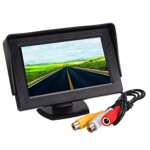 4.3 inch LCD Car Rear View Monitor+Waterproof Night Vision Reverse Parking Camera