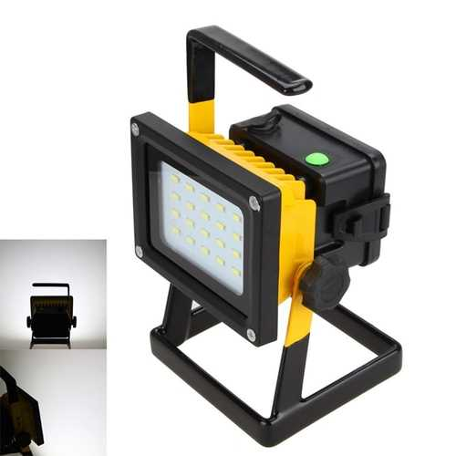 New 10W 20 LED Portable Outdoor Flood Light Camping Emergency Lamp