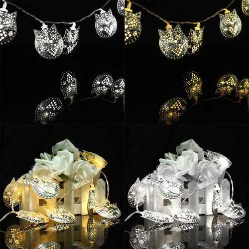 10 LED Owl Party String Lights Outdoor Garden Christmas Wedding Decor