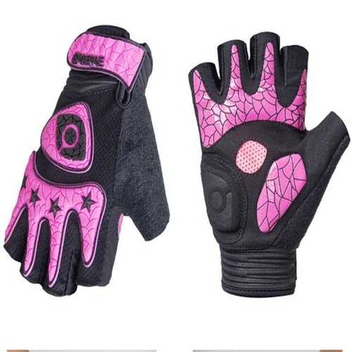 Half Finger Gloves Motorcycle Bicycle Riding Cycling For QEPAE QG052