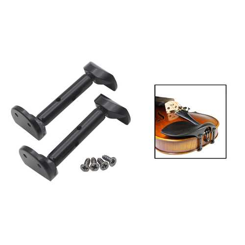 3/4 4/4 Hill-style Violin Chinrest Screw Full Section Violin Chinrest Screws Black