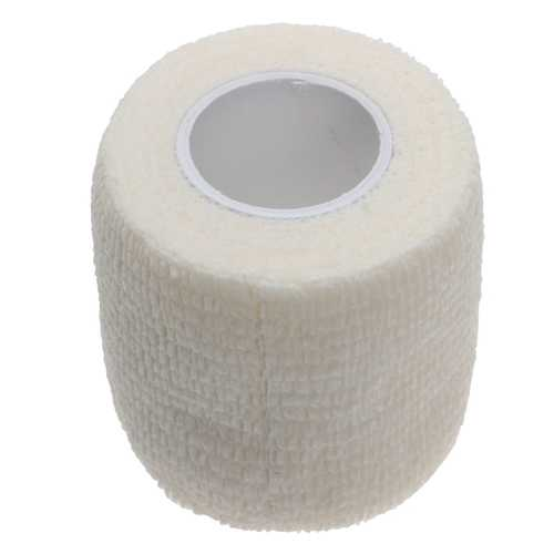 4Pcs White Non-woven Adhesive Elastic Supporting Finger Arm Bandage Tapes