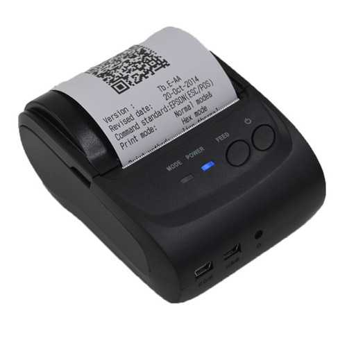 POS-5802LN 58mm bluetooth Wireless Thermal Receipt Printer Support Windows Android IOS Mobile