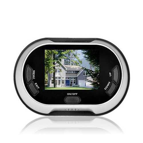 Digital 3.5 inch LCD TFT 0.3MP Video Door Viewer Security Camera Intercom Doorbell Photo Shooting