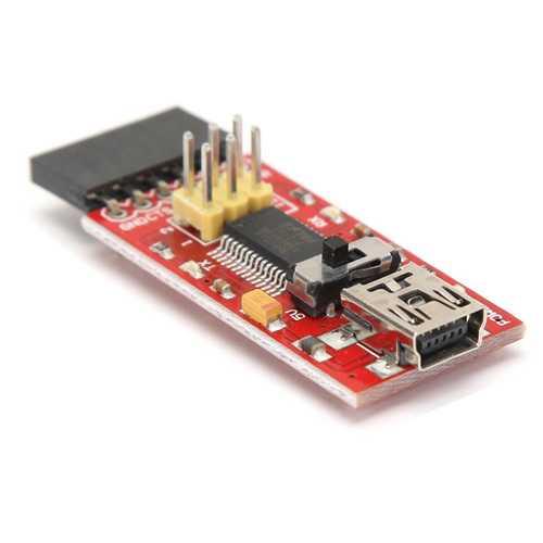 5Pcs FTDI Basic Program Downloader USB-TTL 3.3 / 5V FT232 For Arduino