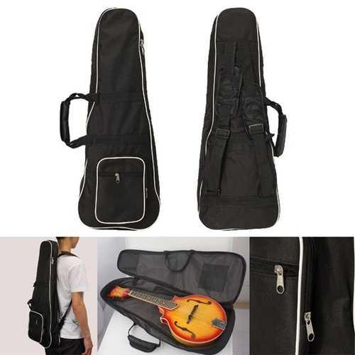 1pcs Black Mandolin Gig Carry Case Bag For Mandolin Music Player