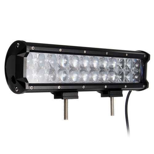 11inch 72W 24LED Spot Flood Lamp Combo Work Light Bar For ATV SUV Jeep Truck Off Road