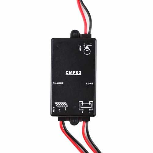 CMP03 3A-12V Charge and Discharge Controller Solar Charge Controller Solar Panel