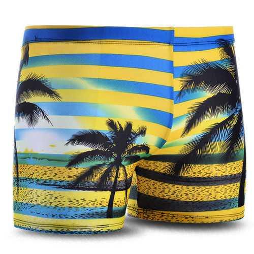 Men Swimming Trunks Swimwear Sports Shorts Boxers Inner Pants